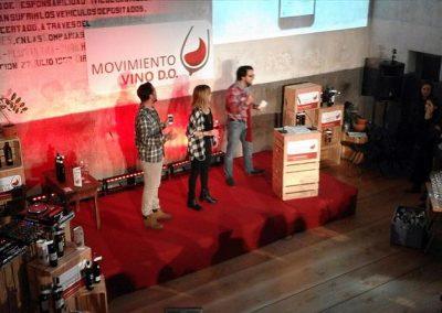 Evento presentación de producto actores -Vino D.O.-